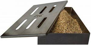 ZTC Boîte Fumoir | acier inoxydable | Boîte Fumoir de bonne qualité | Boîte Fumoir avec grad Volume | adapté pour barbecue à gaz et Barbecue au charbon de la marque image 0 produit